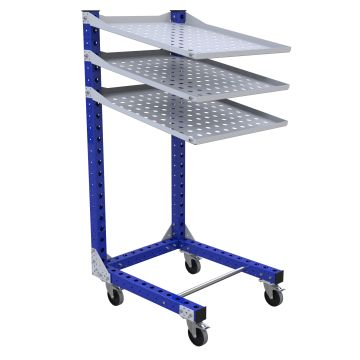 Flow Shelf Cart - 770 x 910 mm