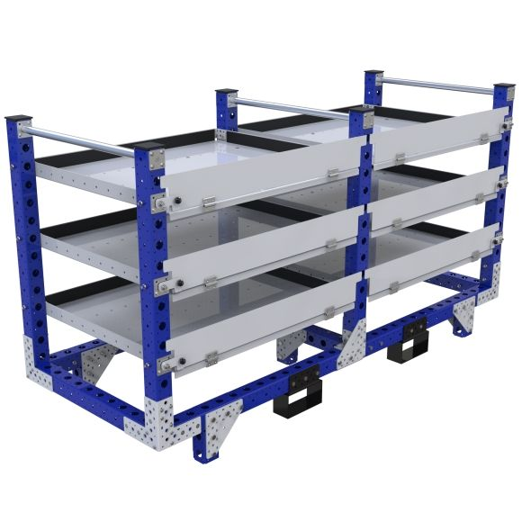 Flat Shelf Rack - 840 x 2170 mm