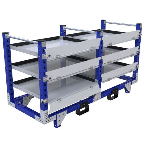 Flat Shelf Rack - 840 x 2170 mm