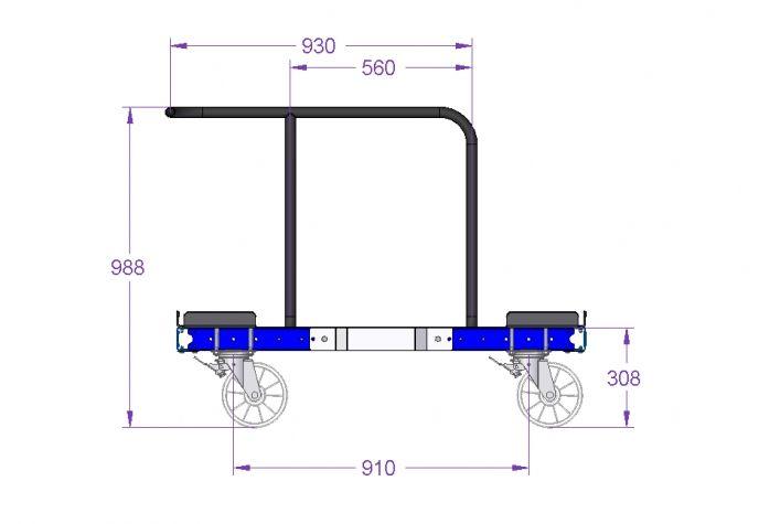 Pallet Trolley 1260 x 1050 mm