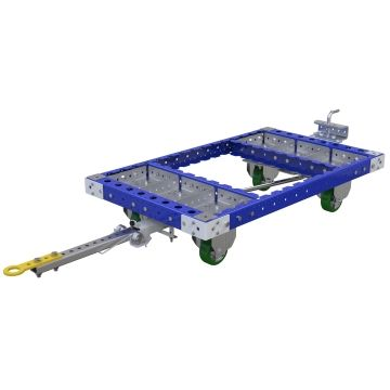Quad Steer Tugger Cart - 700 x 1190 mm