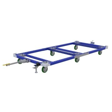 Pallet Tugger Cart - 1540 x 3220 mm