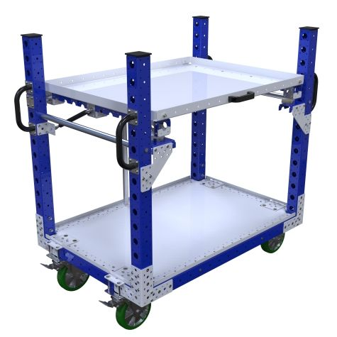 Flip Up Shelf Cart – 840 x 1260 mm