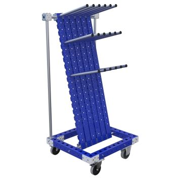 Cart with hangers - 700 x 770 mm
