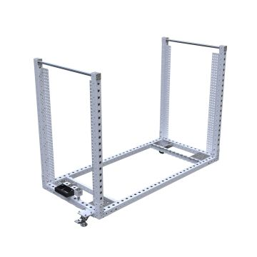 Extendable Shelf Cart - 1050 x 2240 mm