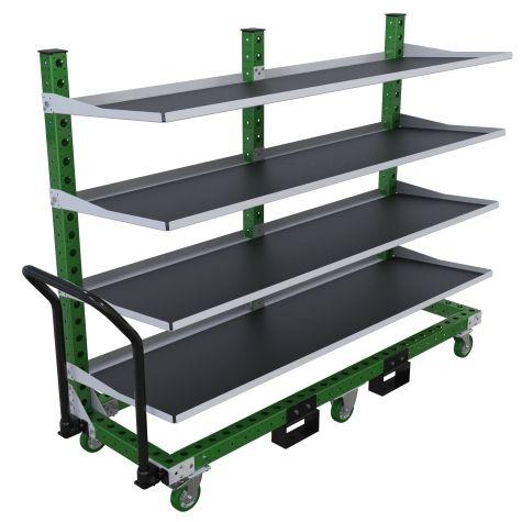 Flow Shelf Cart - 630 x 2030 mm