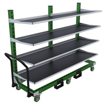 Flow Shelf Cart - 630 x 2030 mm