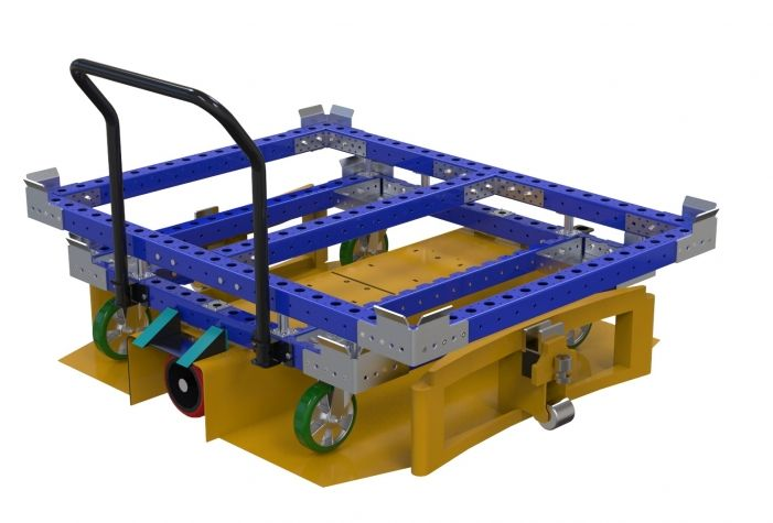 Container Cart - 1680 x 1260 mm