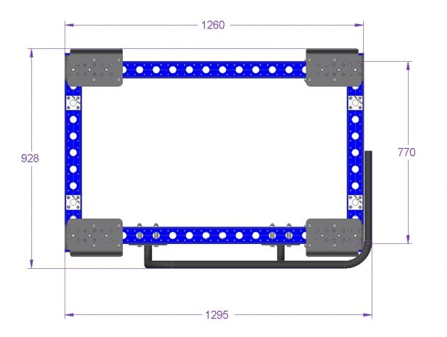 Pallet Trolley - 1260 x 840 mm for STILL Liftrunner B-frame US Version