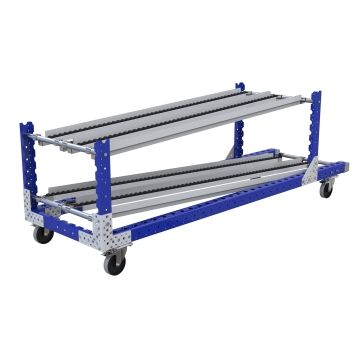 Flow Rack Cart - 700 x 2310 mm