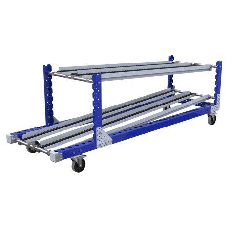 Flow Rack Cart - 700 x 2310 mm