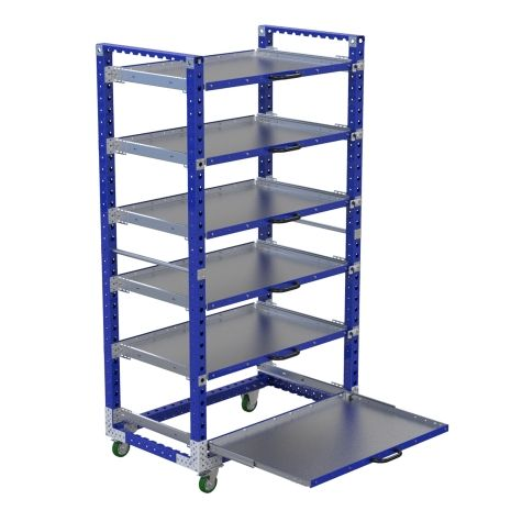 Extendable Shelf Cart - 840 x 1400 mm