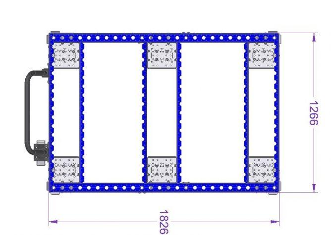 Pallet Cart 1820 x 1260 mm