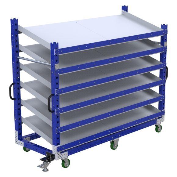 Flow Shelf Cart – 840 x 2170mm
