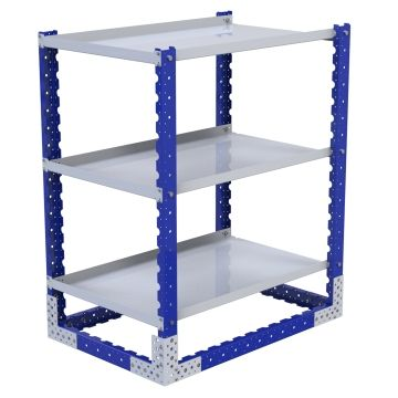 Flat Shelf Rack - 700 x 1050 mm