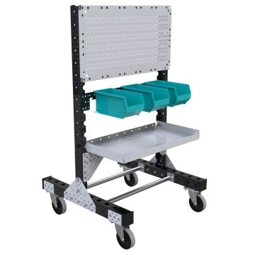 Pegboard Cart - 770 x 770 mm