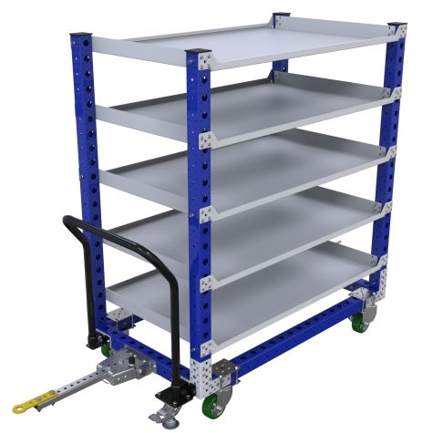 Shelf Tugger Cart – 840 x 1470 mm