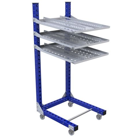 Flow Shelf Cart – 770 x 910 mm
