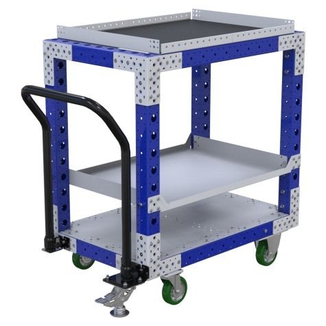 Flat Shelf Cart - 630 x 980 mm