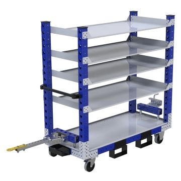 Shelf Tugger Cart - 630 x 1400 mm