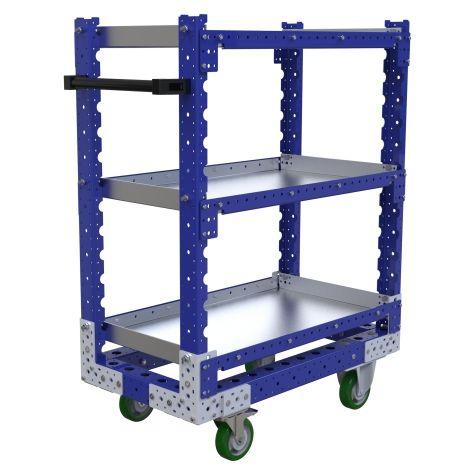 Flat Shelf Cart - 490 x 910 mm
