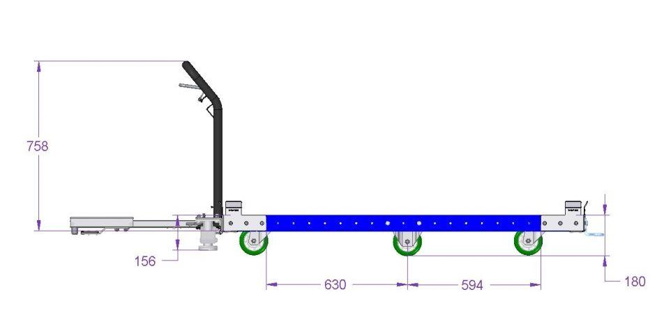 Tugger Cart - 1610 x 1260 mm