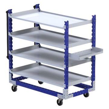 Flat Shelf Cart - 770 x 1470 mm
