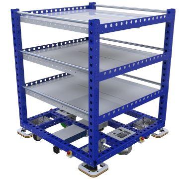 eQart - Flat Shelf Cart - 1260 x 1260 mm