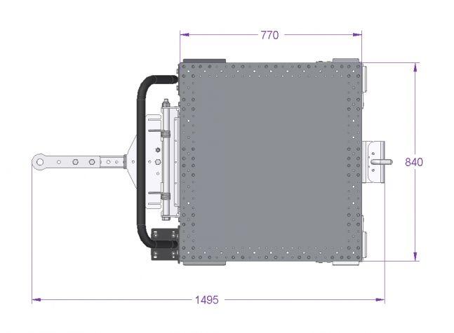 Tugger Cart - 32 x 30 Inch