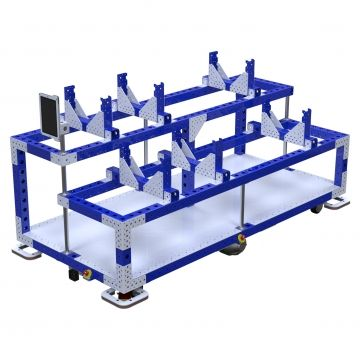 eQart - Cart for Crank Shaft - 1120 x 2380 mm