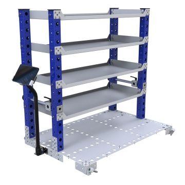 Flat Shelf Rack – 1260 x 840 mm