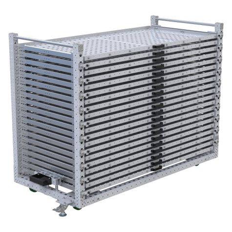 Extendable Shelf Cart – 1050 x 2240 mm