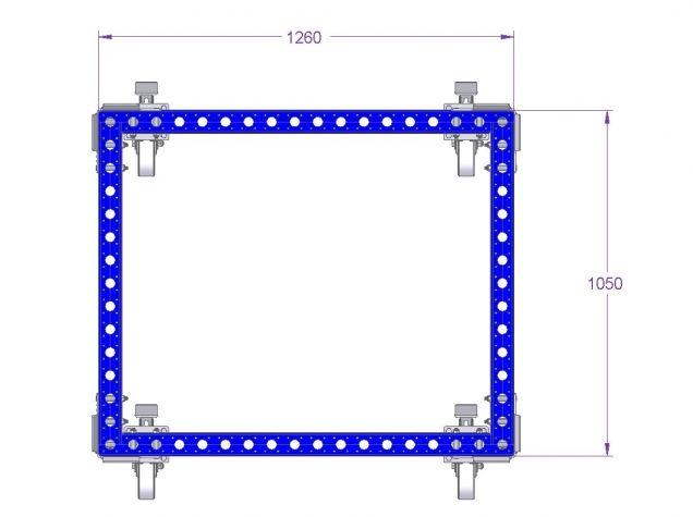 Pallet Cart High 40 x 48 inch