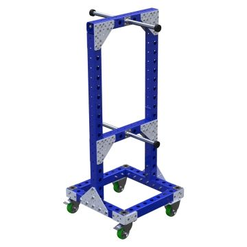 2 Sided Hose Cart – 630 x 630 mm