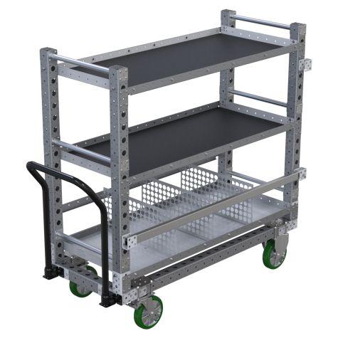 Flat Shelf Cart – 630 x 1540 mm