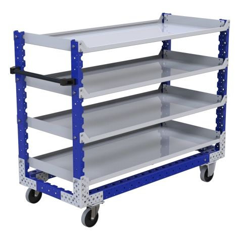 Flat Shelf Cart – 630 x 1470 mm