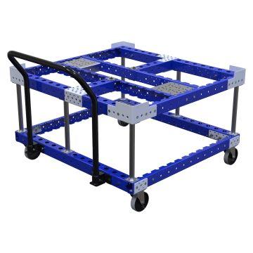 Manual handling pallet cart 1120 x 1050 mm