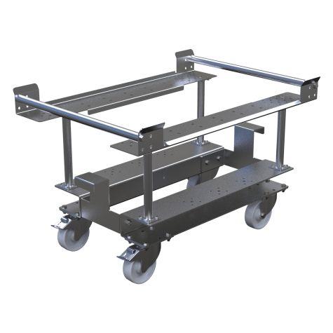 Half pallet cart for E- frame 630 x 940 mm