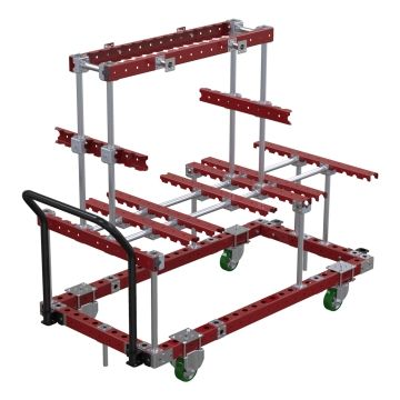 Large Door Assembly Cart