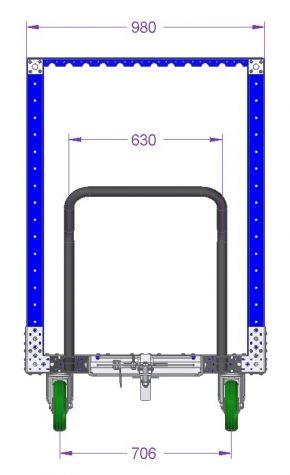 Pallet Cart 1890 x 980 mm
