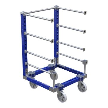 Cart with Horizontal Pipes