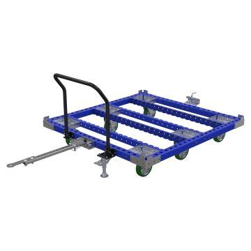 Tugger cart - 1610 x 1540 mm