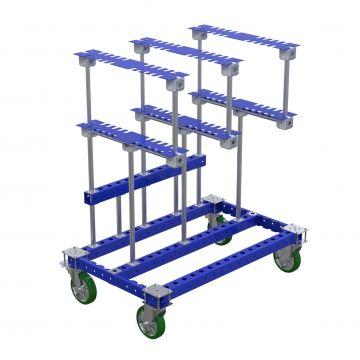 Carro de kit para mangueras - 1260 x 770mm