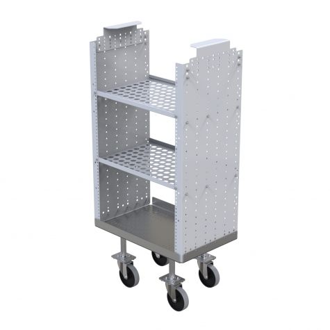 Small Cart with Shelves - Daughter Cart