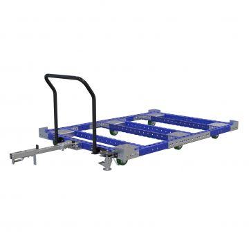Low Rider Pallet Cart 80 x 55 inch