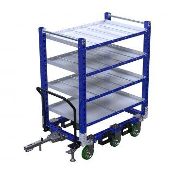 Shelf cart with divider 1330 x 840 mm