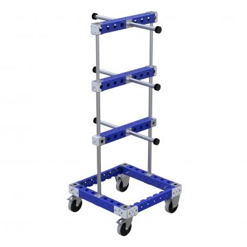 Two Sided Hose Cart