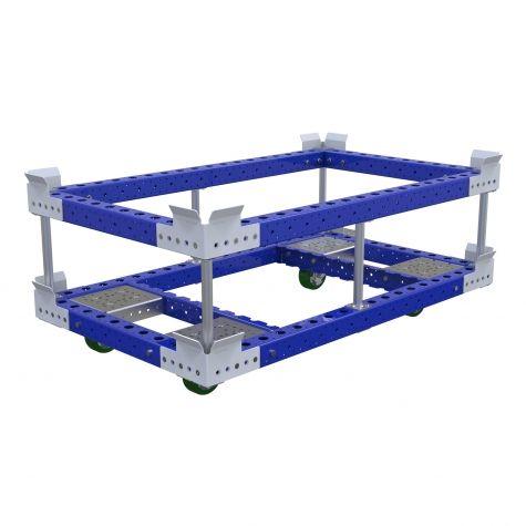 Pallet Cart w. Sub-Frame - 840 x 1400 mm