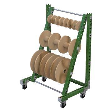 Carro colgante para bobinas - 1190 x 840 mm