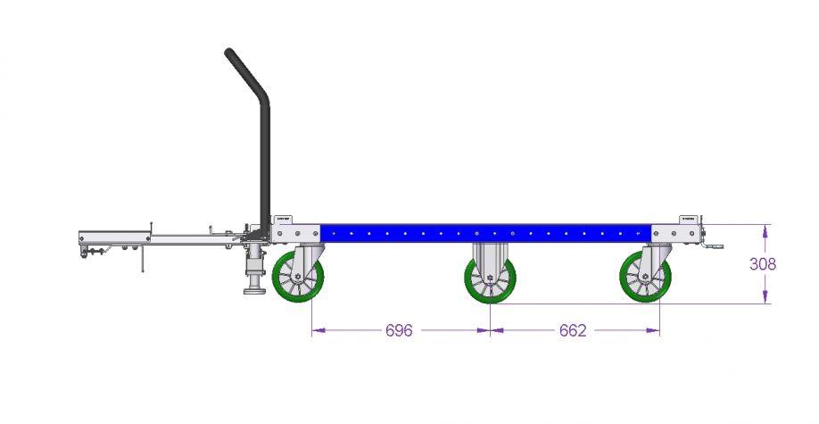 Tugger Cart - 64 x 48 inch